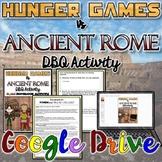 Hunger Games VS Ancient Rome DBQ Activity {Digital}