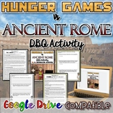Hunger Games VS Ancient Rome DBQ Activity {Digital AND Paper}
