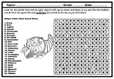 Hunger Games, Word Search Puzzle Worksheet, No Prep Sub Plan