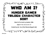 Hunger Games and Catching Fire Who am I? Character Analysis
