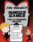 Hunger Games review game