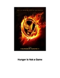 Hunger is Not a Game - Lesson Plan about the Theme of Hunger