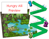 Hungry Alli: A Game of Comparing Numbers