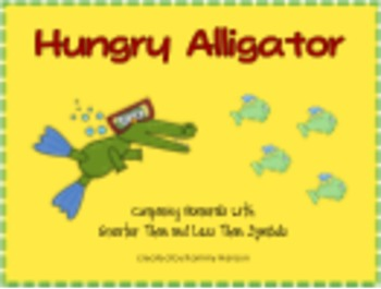 Hungry Alligator! Comparing Numerals with Greater Than and Less Than Symbols