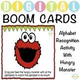 Hungry Alphabet Monster - Uppercase Alphabet Recognition -
