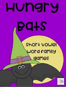 Hungry Bats:  Short Vowel Games