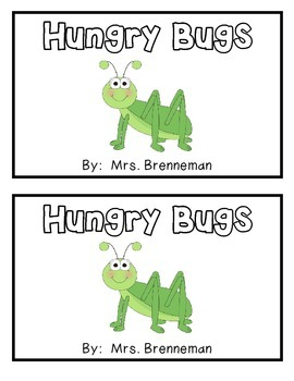 Hungry Bugs Emergent Reader