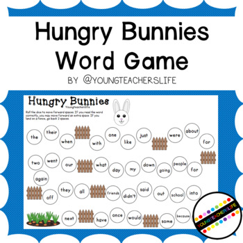 Hungry Bunnies Word Game
