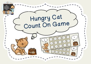 Hungry Cat Count On Maths Game