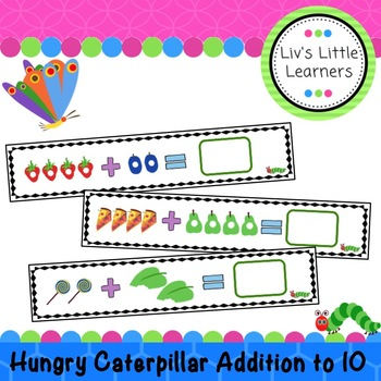 Caterpillar Addition Cards to 10
