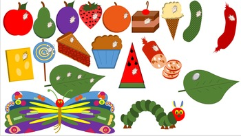 Hungry Caterpillar Clip Art