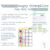 Hungry Caterpillar Counting and Number Recognition