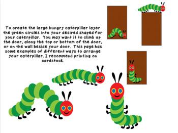 Hungry Caterpillar Door Display Set
