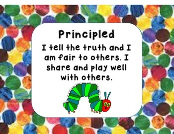 Hungry Caterpillar IB Profile Words