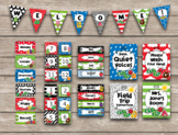 Hungry Caterpillar Inspired Editable Classroom Decor Package