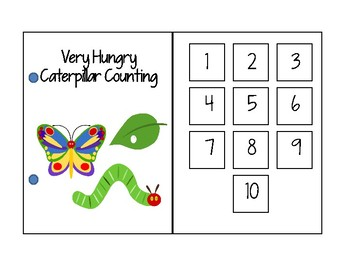 Hungry Caterpillar Interactive Counting Book