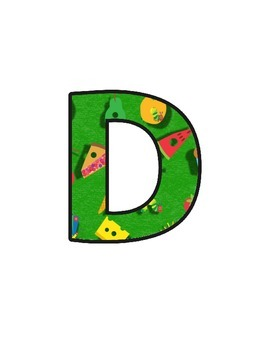 Hungry Caterpillar Letters (upper/lowercase, cursive, numbers, shapes, symbols)
