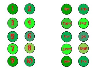 Hungry Caterpillar: Match Your Numbers