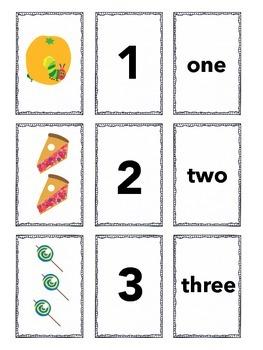 Hungry Caterpillar Matching Game