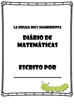 Hungry Caterpillar Math Journal (Spanish)