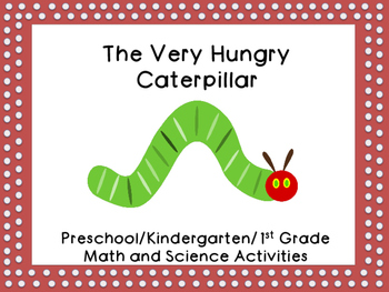 Hungry Caterpillar Math and Science Activities