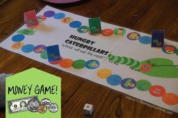 Hungry Caterpillar Money Games