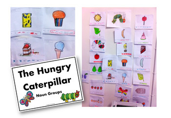 The Very Hungry Caterpillar Grammar Activities and Games