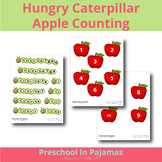 Hungry Caterpillar Number Matching Game
