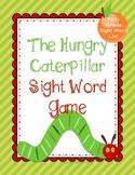 Hungry Caterpillar Sight Word Game: First Grade List