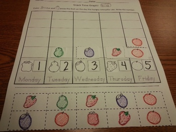 Hungry Caterpillar Math Counting 1-5 Activity worksheets p