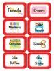 Caterpillar Themed Classroom Supply Tags