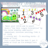 Hungry Caterpillar Themed Literacy-Counting Play Mat-Close