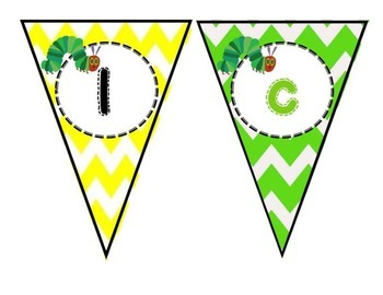 Hungry Caterpillar Welcome to 1st Grade Banner