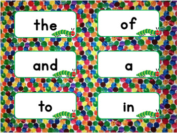 Hungry Caterpillar Word Wall Set 2