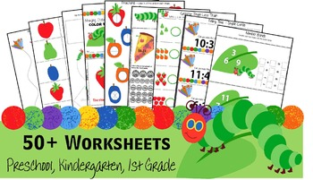 Hungry Caterpillar Worksheets