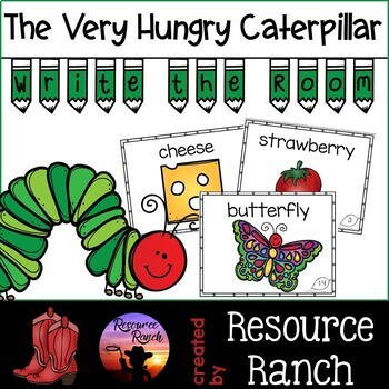 Hungry Caterpillar Write the Room