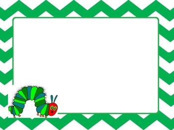 Hungry Caterpillar zip file