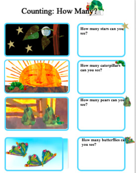 Hungry Caterpillars Maths for Early Years and SEN