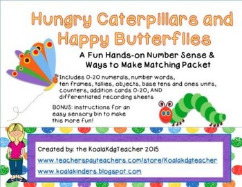 Hungry Caterpillars and Happy Butterflies