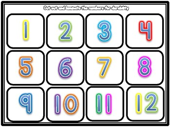 Hungry Cow Counting and Number Correspondence Activity