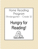 Hungry For Reading Home Reading Program 2018-2019 (K-5)