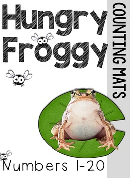 Hungry Frog Counting Mats