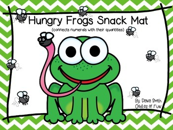 Hungry Frog Snack Mat