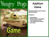 Hungry Frogs Addition Game