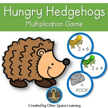 Hungry Hedgehogs Multiplication Game