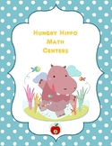 Hungry Hippo Math Centers