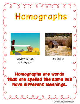 Hungry Homographs