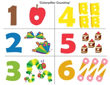Hungry Hungry Caterpillar Flash Card Pack