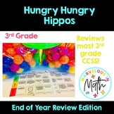 Hungry Hungry Hippos 3rd Grade Math Review