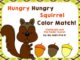 Hungry, Hungry Squirrel Color Match